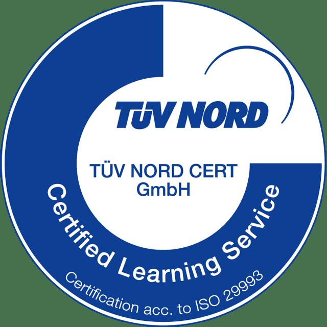 Ayurveda Campus, TÜV Nord, ISO 29990 zertifiziert