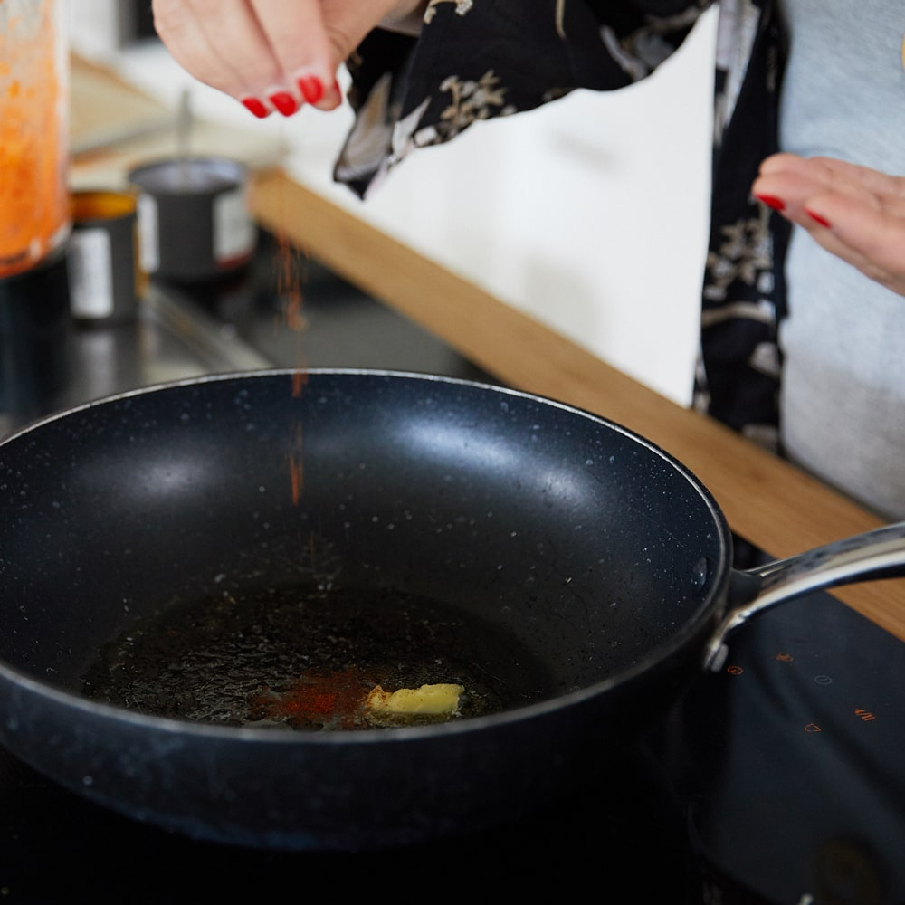 Sunita Ehlers eim kochen